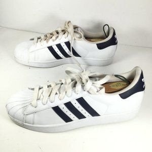 Adidas Superstar II Sneaker White/Blue Size 12